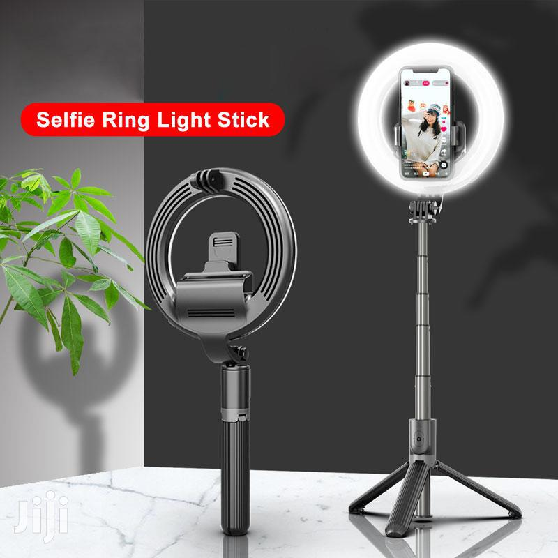 LED Ring Light Bluetooth Selfie Stick Tripod Stand