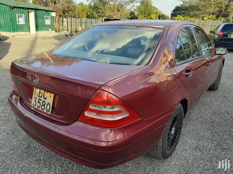 Mercedes-Benz C180 2003 Red   Cars for sale in Nairobi Central, Nairobi, Kenya
