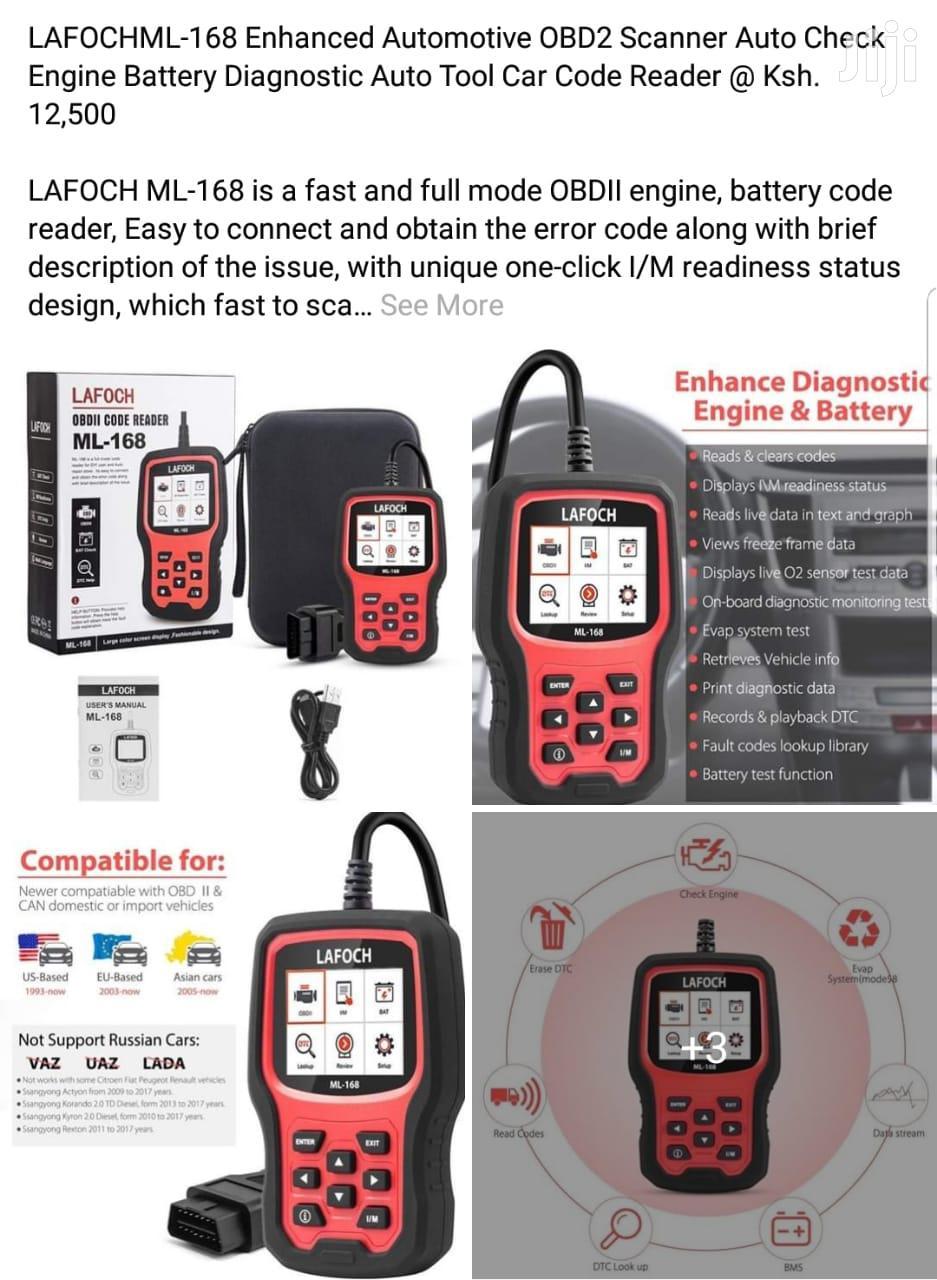 LAFOCHML-168 Enhanced Automotive OBD2 Scanner Autocheck