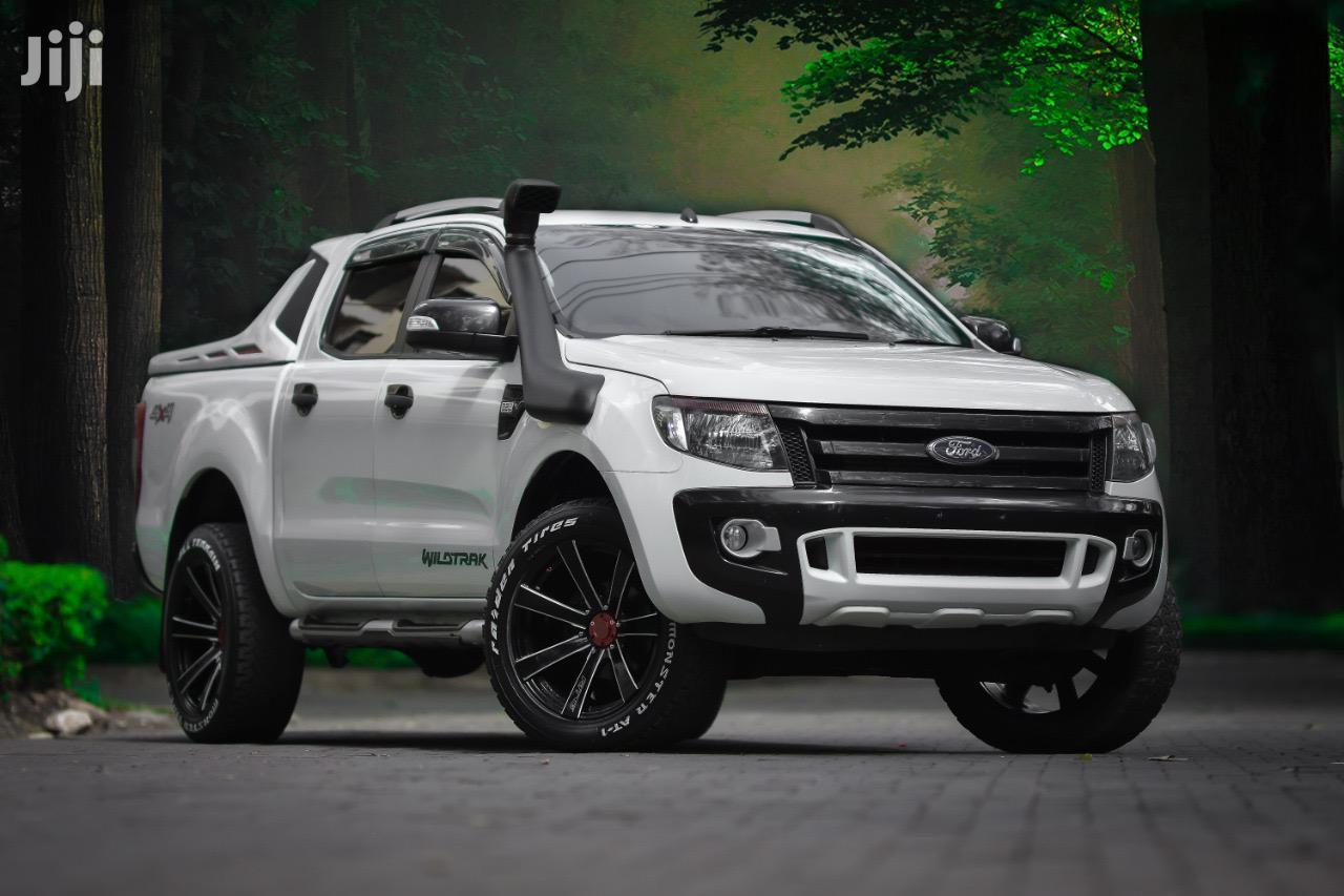 Ford Ranger 2014 White