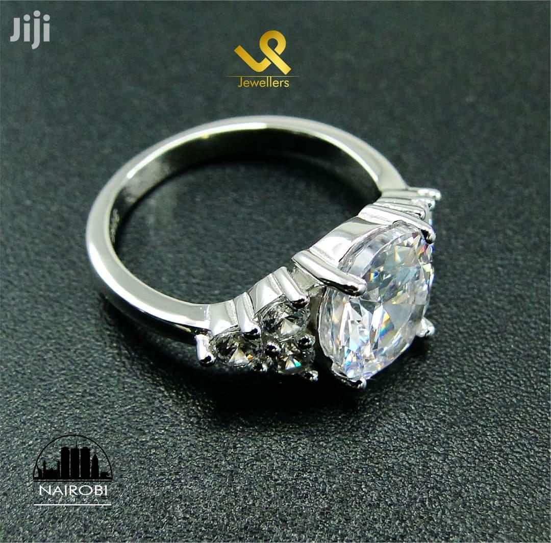 Ready Made Sterling Silver Ladies Engagement Ring In Nairobi   Wedding Wear & Accessories for sale in Nairobi Central, Nairobi, Kenya