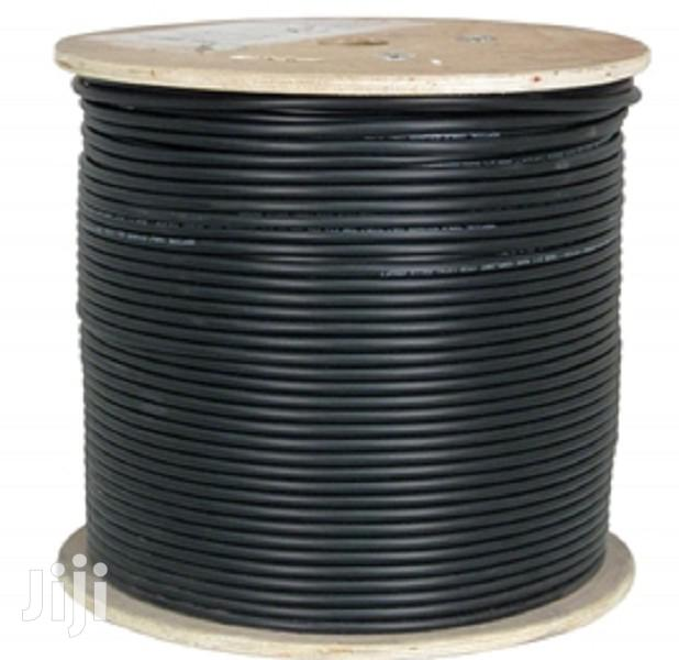 Cat 6 Outdoor Cable Weatherproof