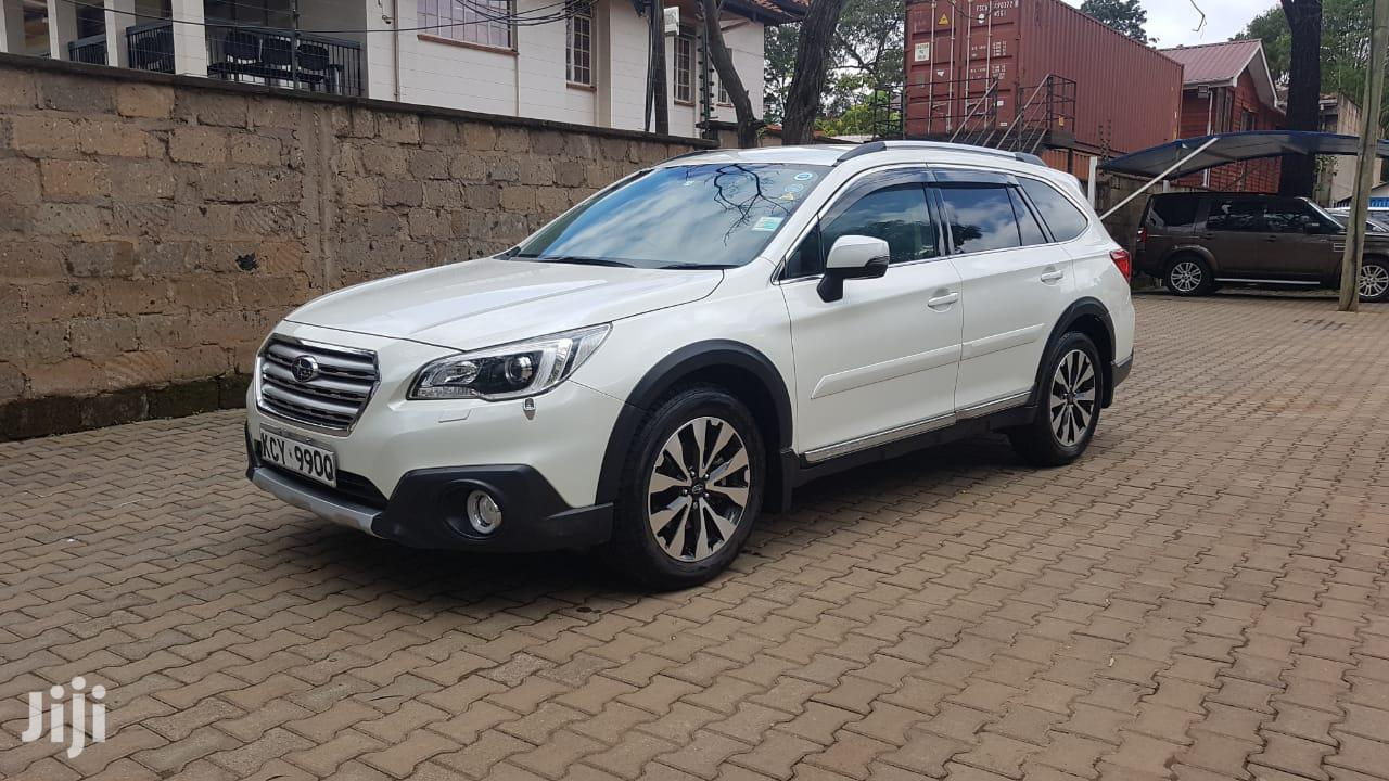 Subaru Outback 2015 White | Cars for sale in Lavington, Nairobi, Kenya