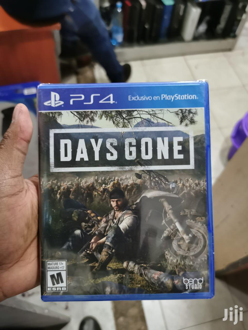 Days Gone For Ps 4