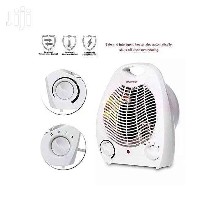 Heat Glow Electric Room Heater Room Warmer Heater - White