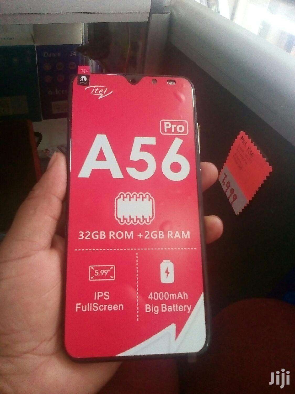 New Itel A56 Pro 32 GB Black