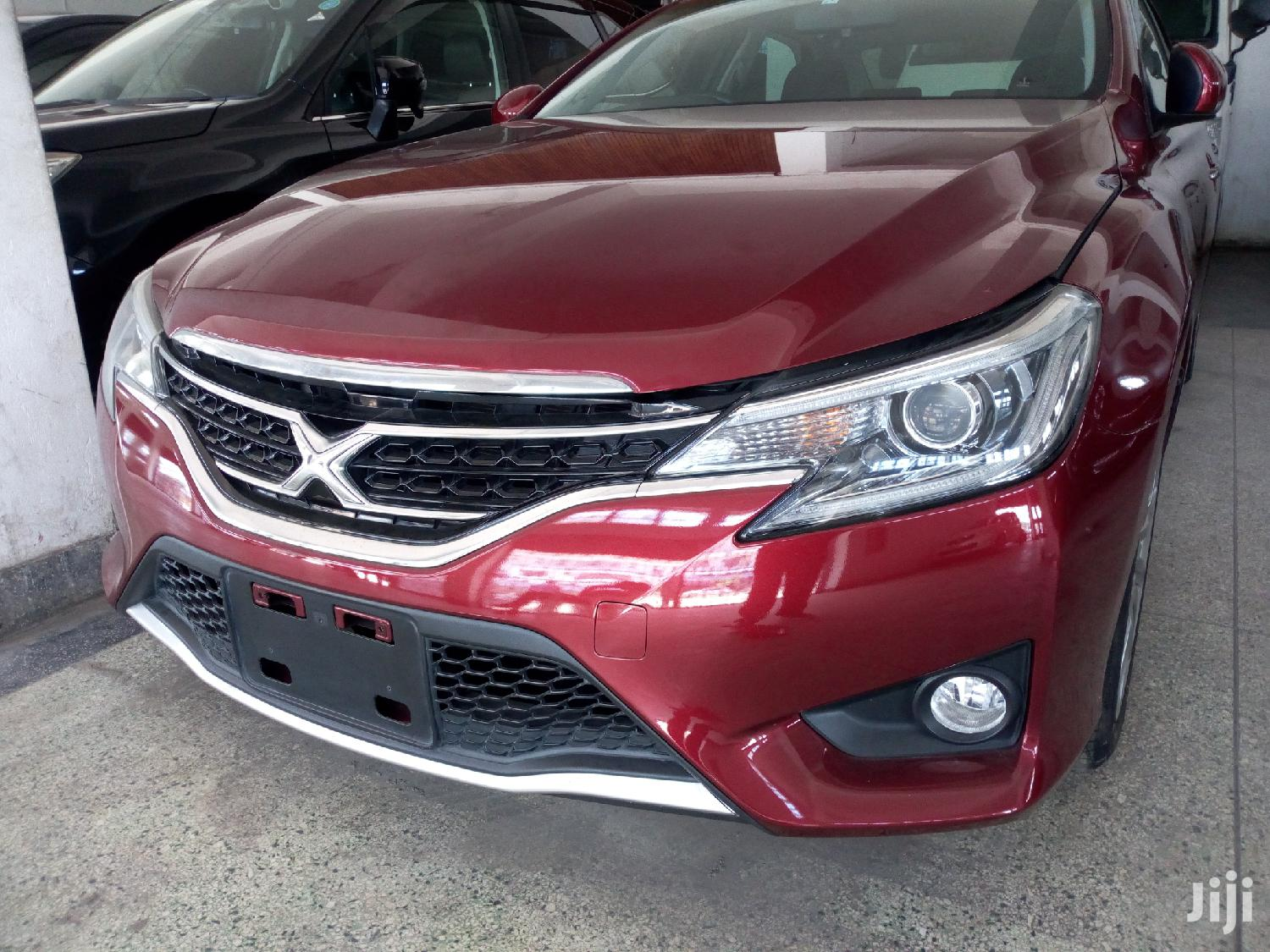 Toyota Mark X 2013 Red