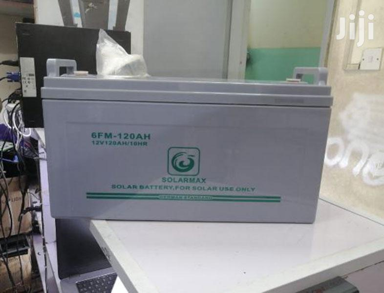 Archive: 12V 120AH Solarmax Deep Cycle GEL Solar Battery