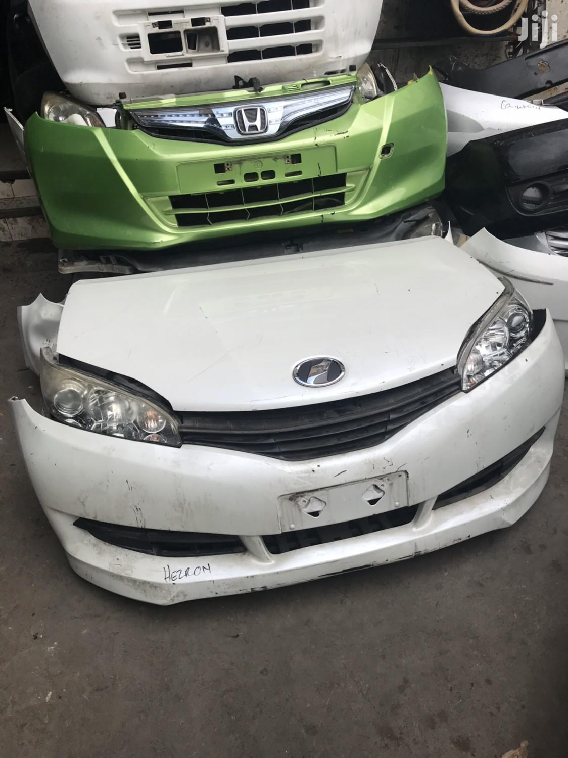 Archive: Toyota Wish 2010 Front Bumper