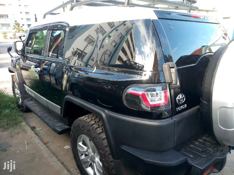 Toyota FJ Cruiser 2013 4X4 AT Black   Cars for sale in Mvita, Mombasa, Kenya