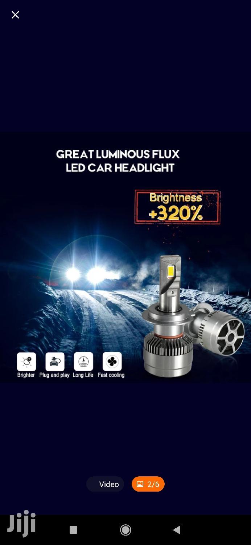 Led Head Light H4 Bulb 72watts 8000LM 6500k White Cree Chip