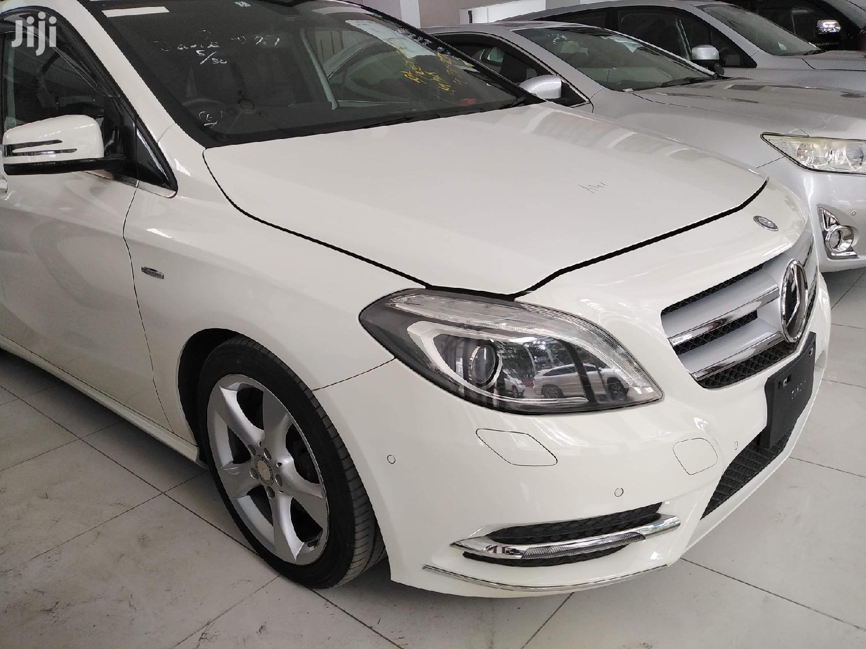 Mercedes-Benz B-Class 2012 White