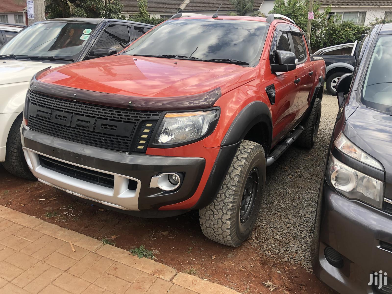 Archive: Ford Ranger 2014 Orange