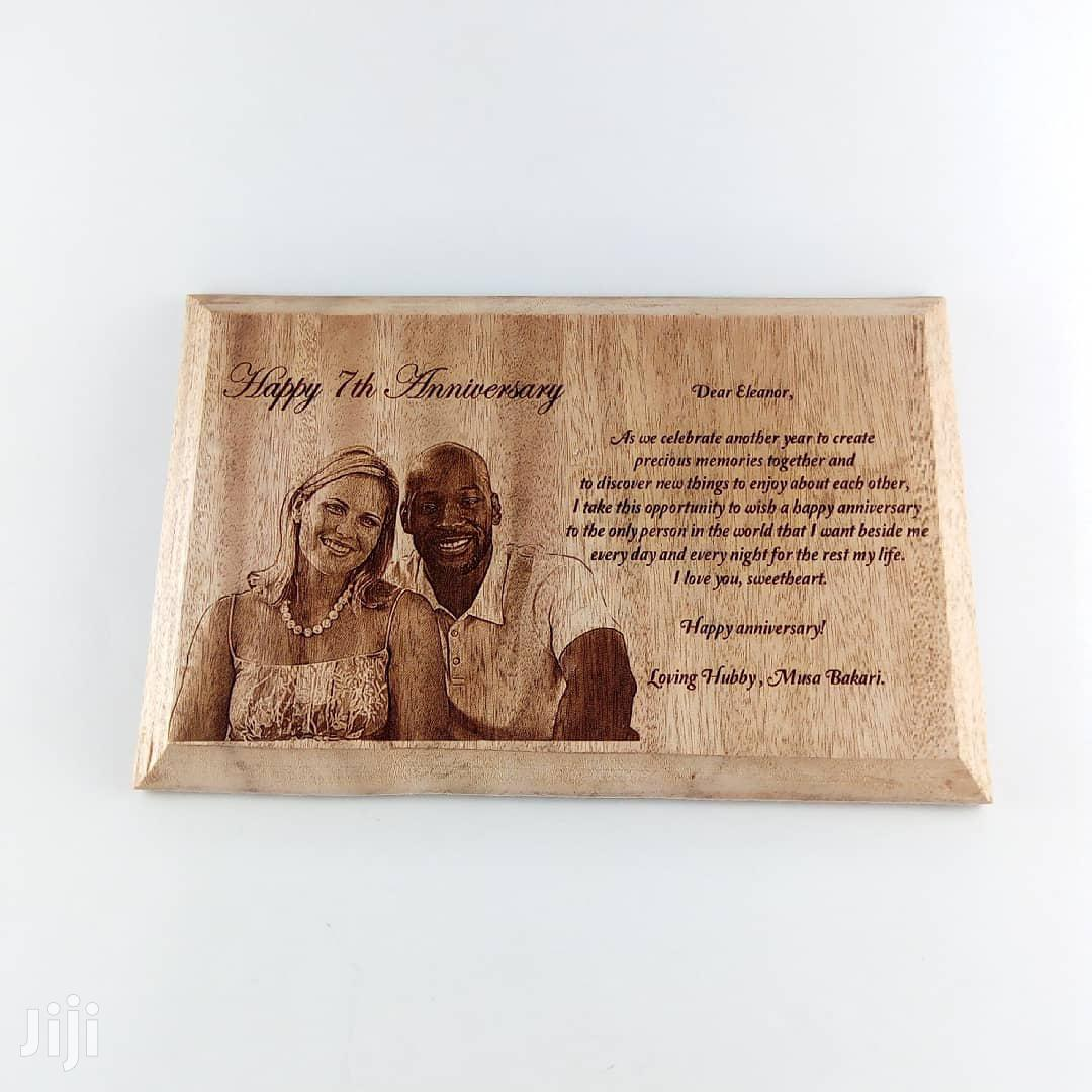 Personalized Wood Plaque | Arts & Crafts for sale in Nairobi West, Nairobi, Kenya
