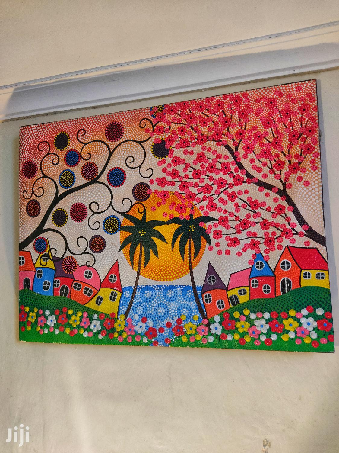 Archive: Beautiful Dotted Painting