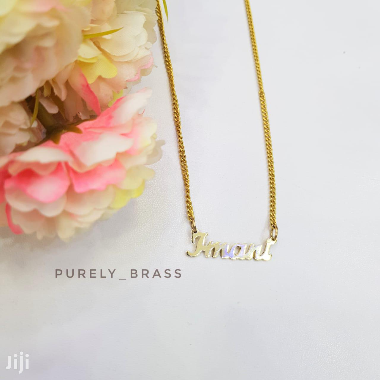 Purely Brass Necklace