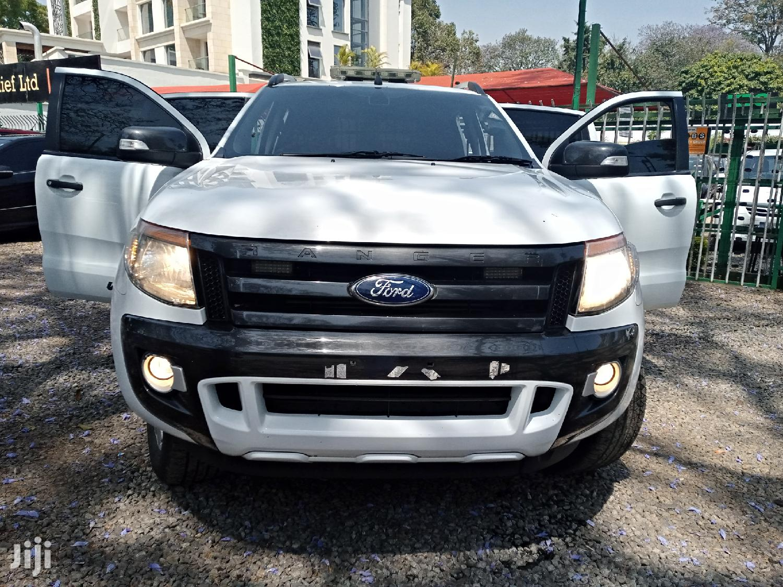 Ford Ranger 2013 White