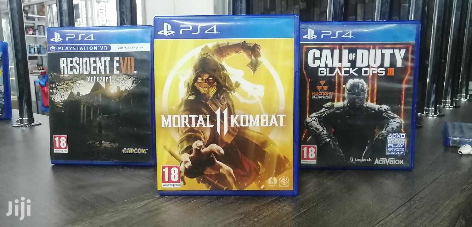Used Ps4 Games New