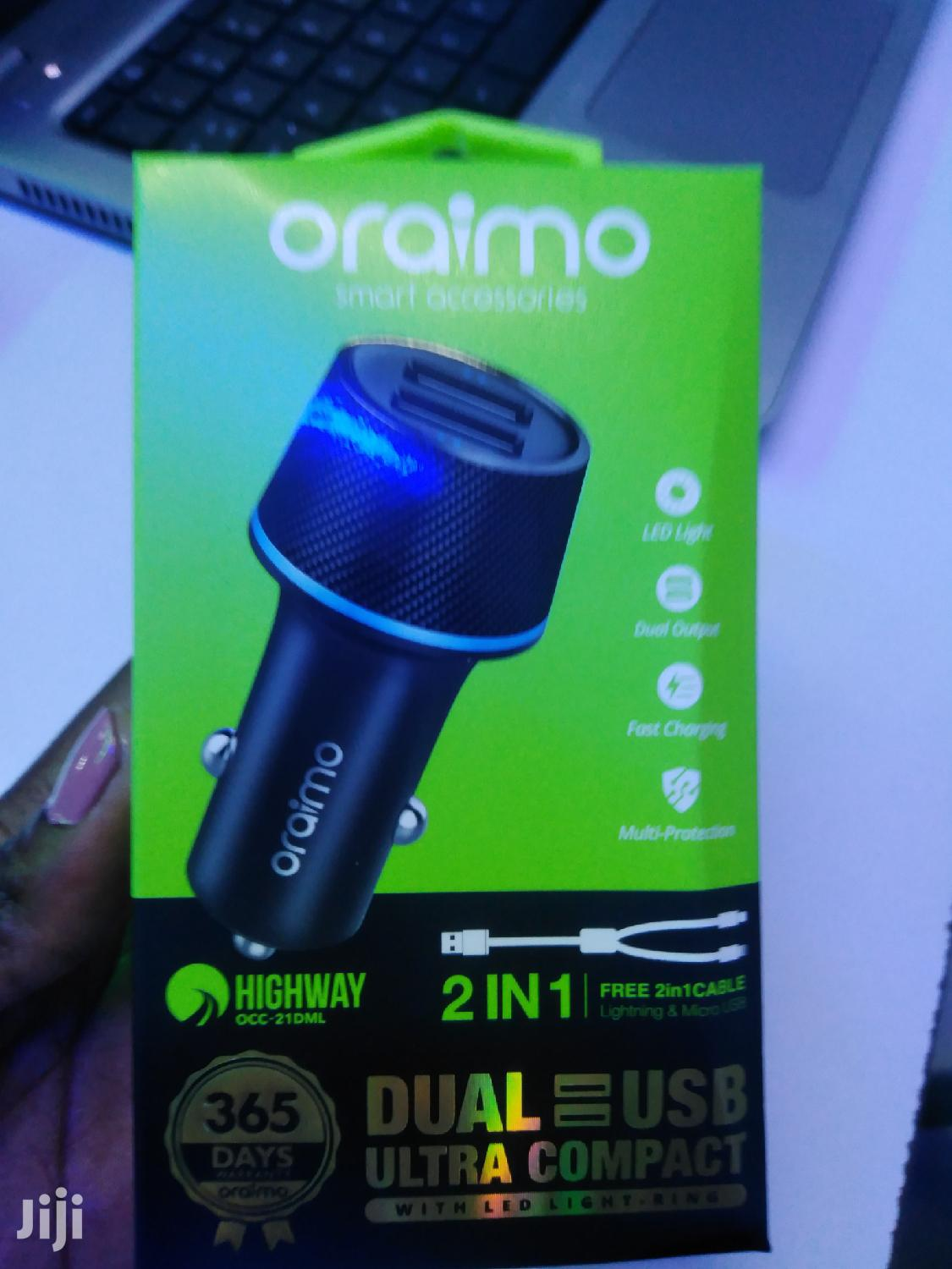 Archive: Oraimo Car Charger
