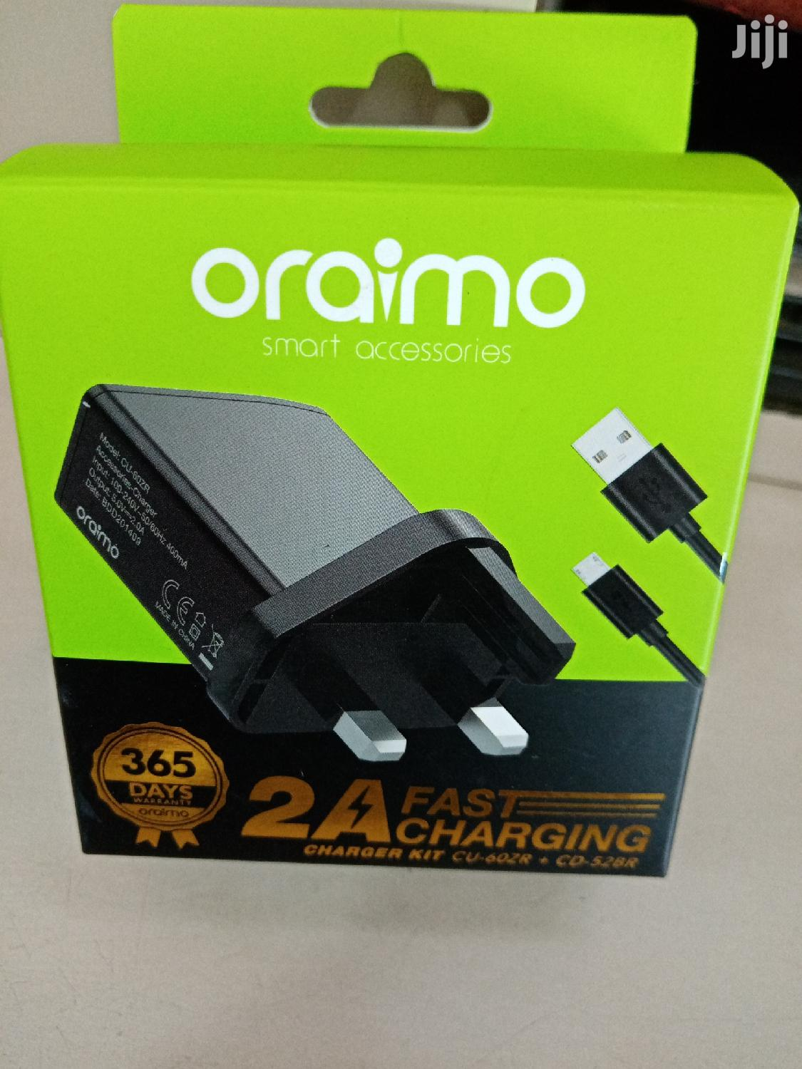 Oraimo Charger | Accessories for Mobile Phones & Tablets for sale in Nairobi Central, Nairobi, Kenya