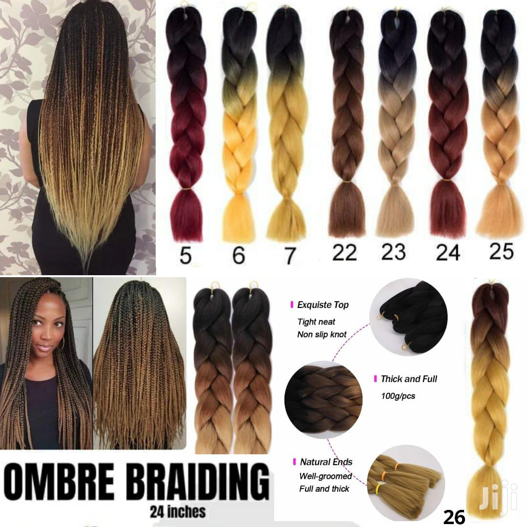 Ombre Braiding 24inches