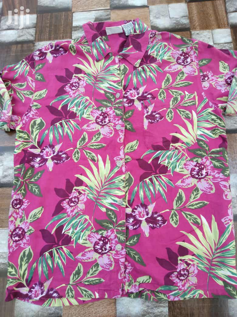 Archive: Floral Shirts Thrifted First Camera
