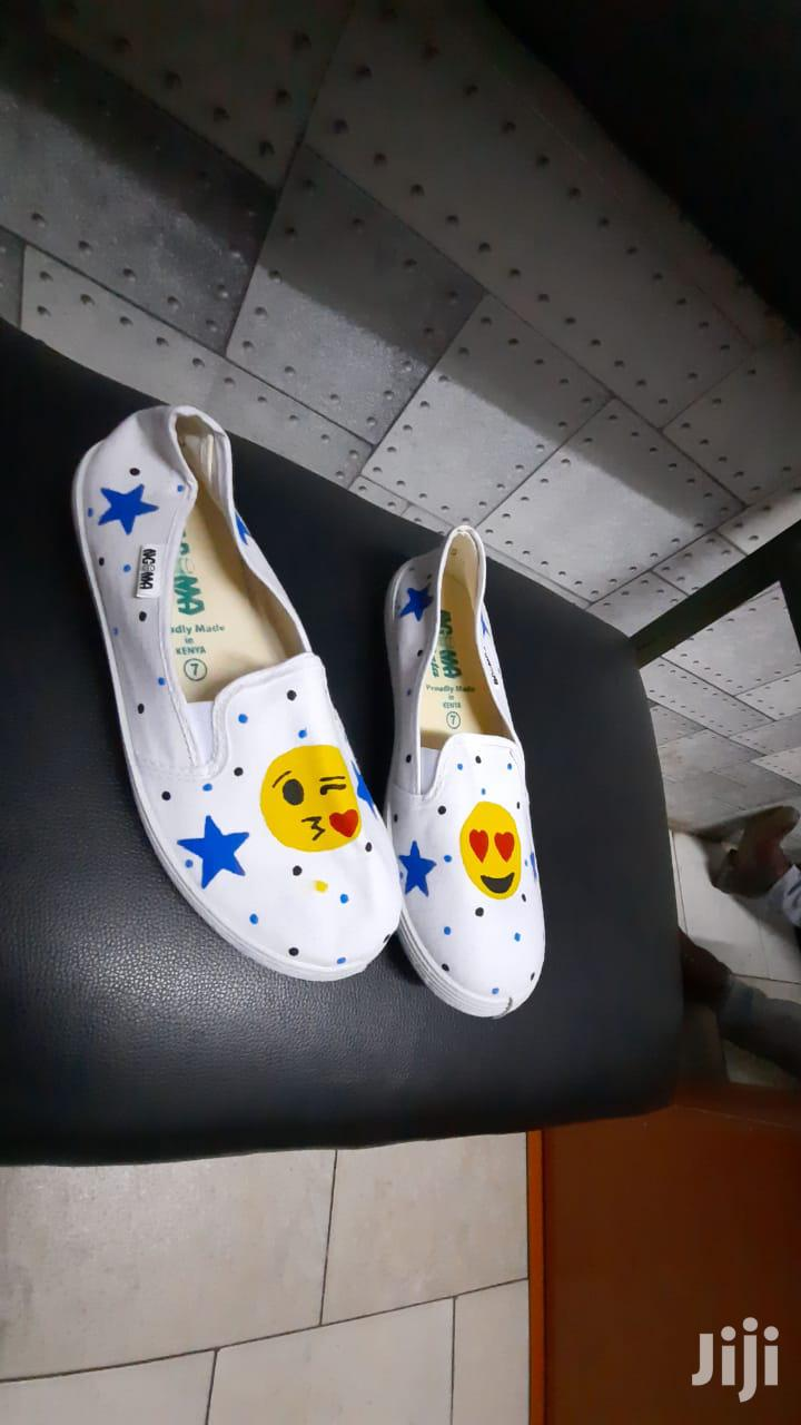 Archive: Customized Ngoma's Rubber Shoes.