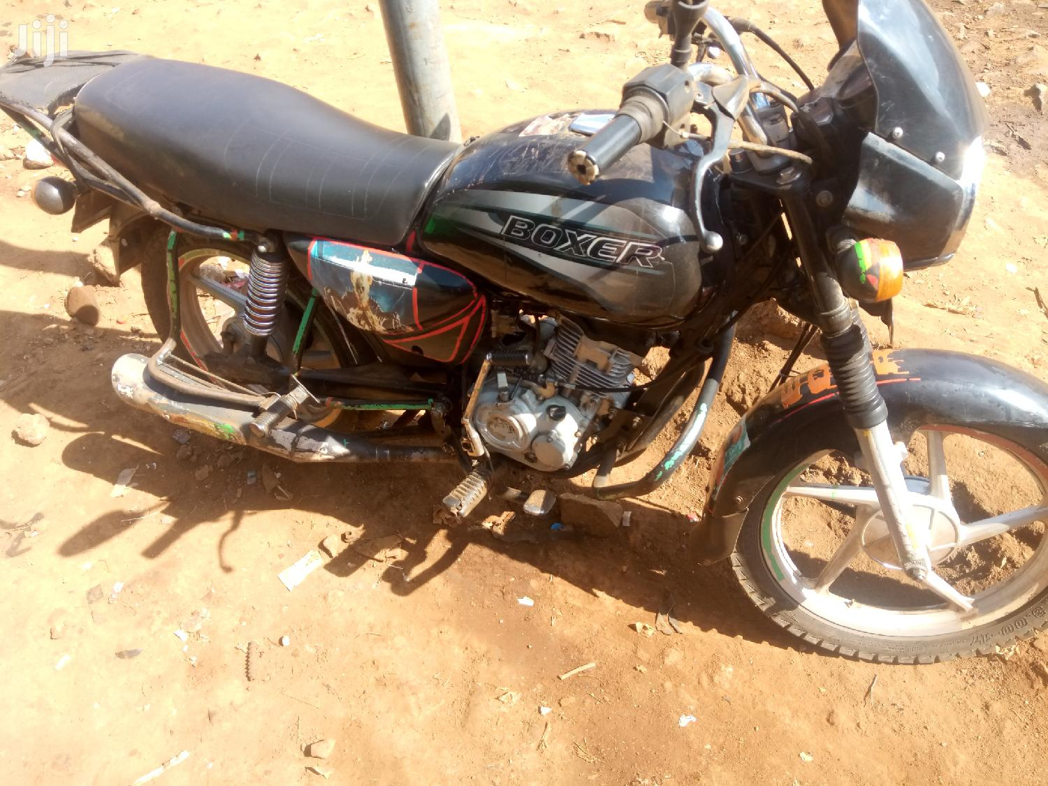 Archive: Bajaj Boxer 2015 Black