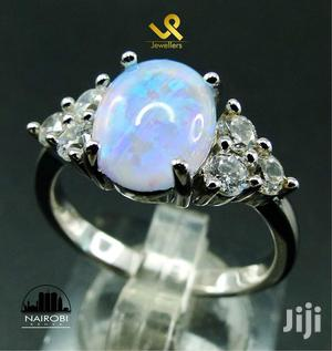 Ready Made Ladies Sterling Silver With Opal Engagement Ring   Wedding Wear & Accessories for sale in Nairobi, Nairobi Central