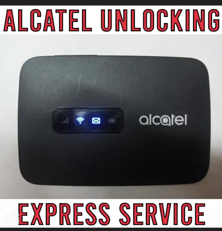 Unlock Alcatel Mifi Linkzone TCL Unlocking Service   Computer & IT Services for sale in Nairobi Central, Nairobi, Kenya