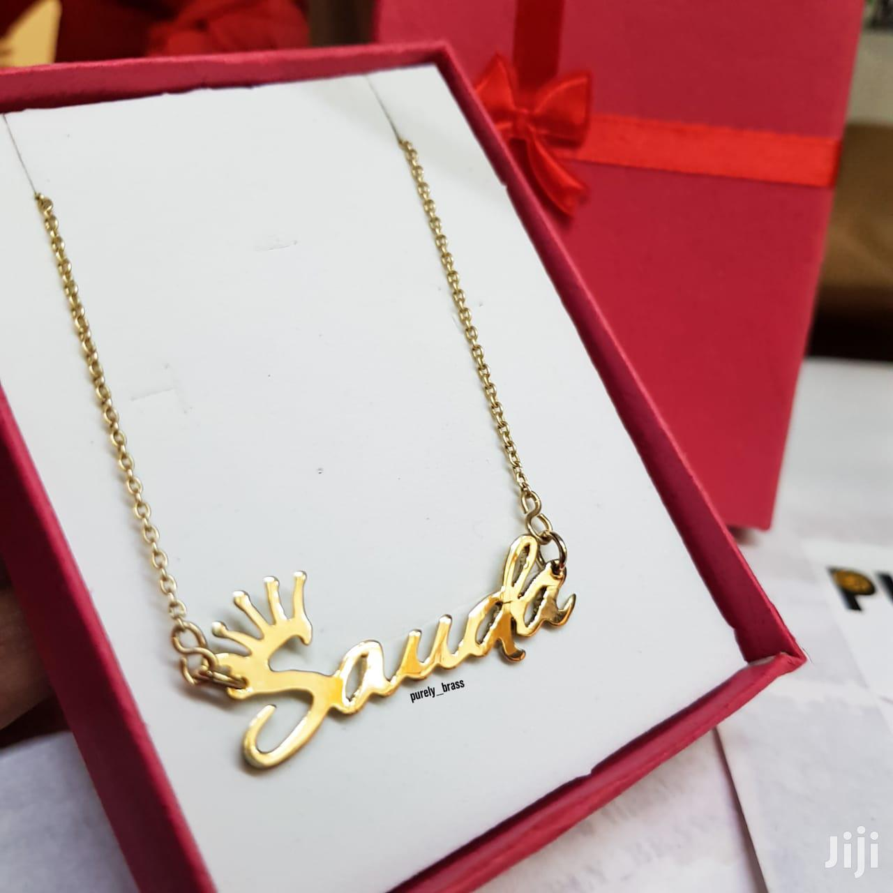 Purely Brass Necklace | Jewelry for sale in Nairobi Central, Nairobi, Kenya