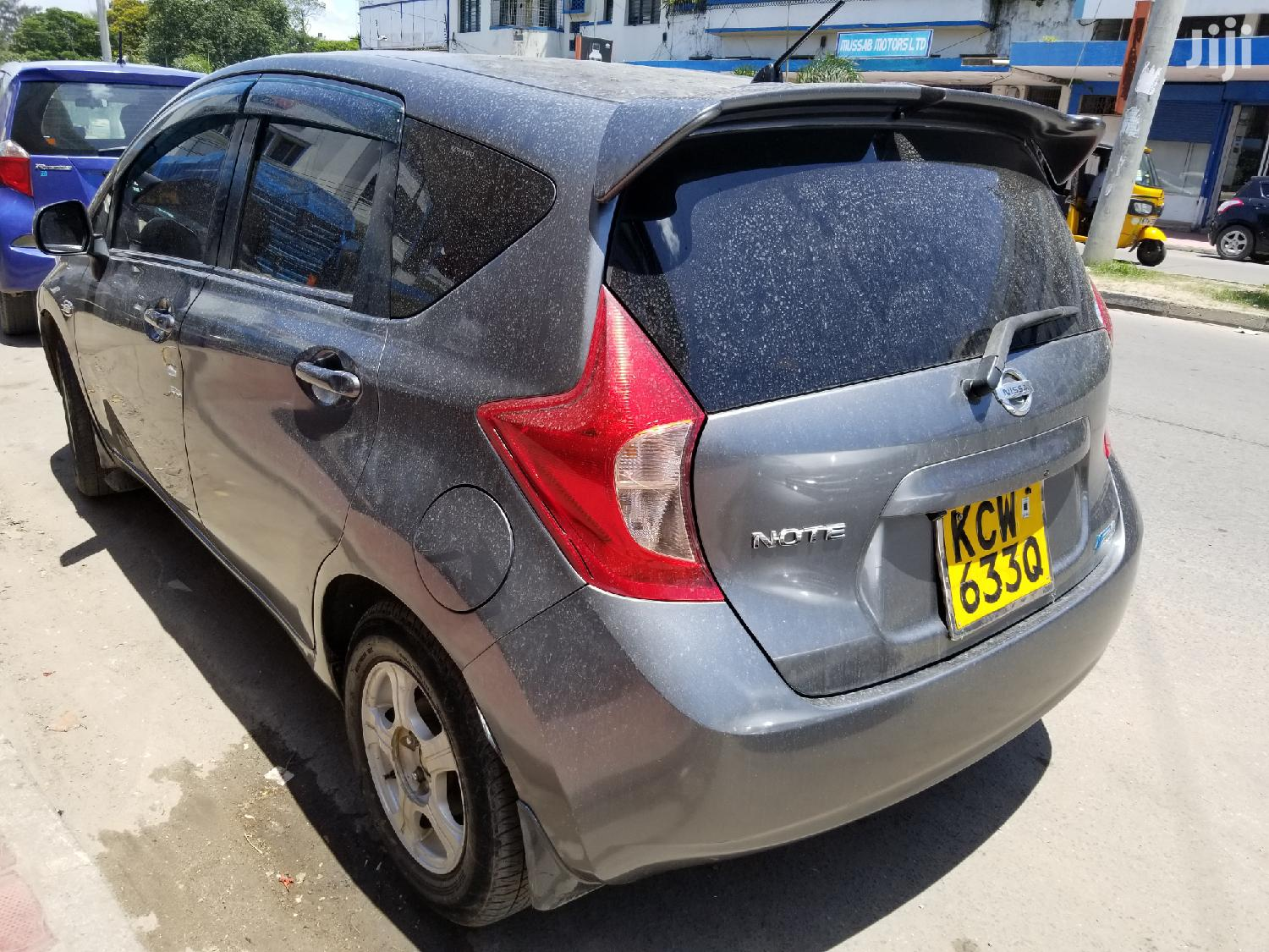 Nissan Note 2012 1.4 Gray