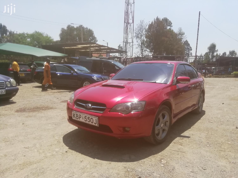 Archive: Subaru Legacy 2004 L Sedan Red