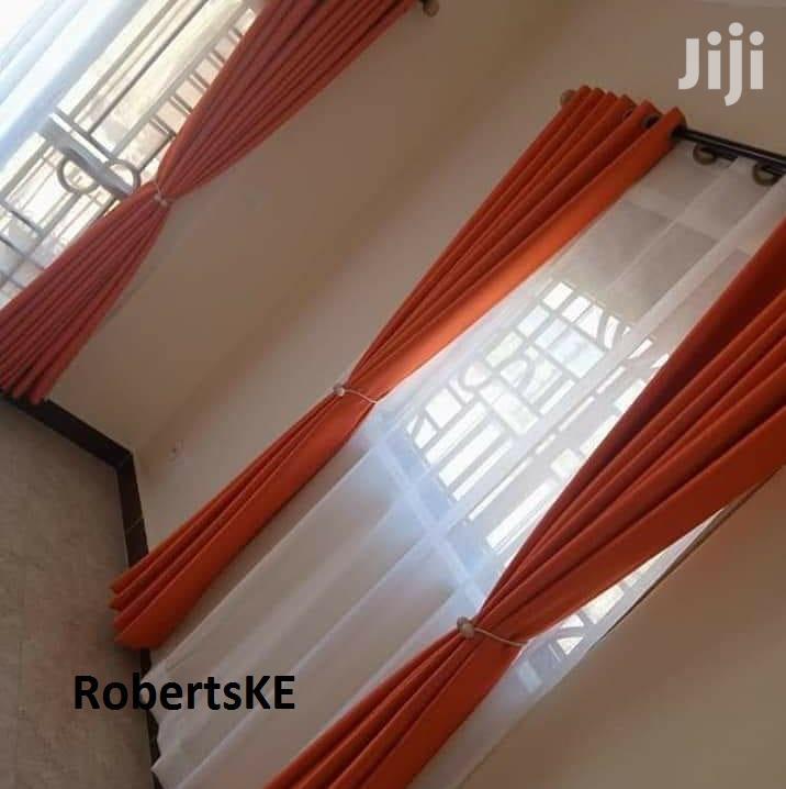 Linen Curtain Plain Color