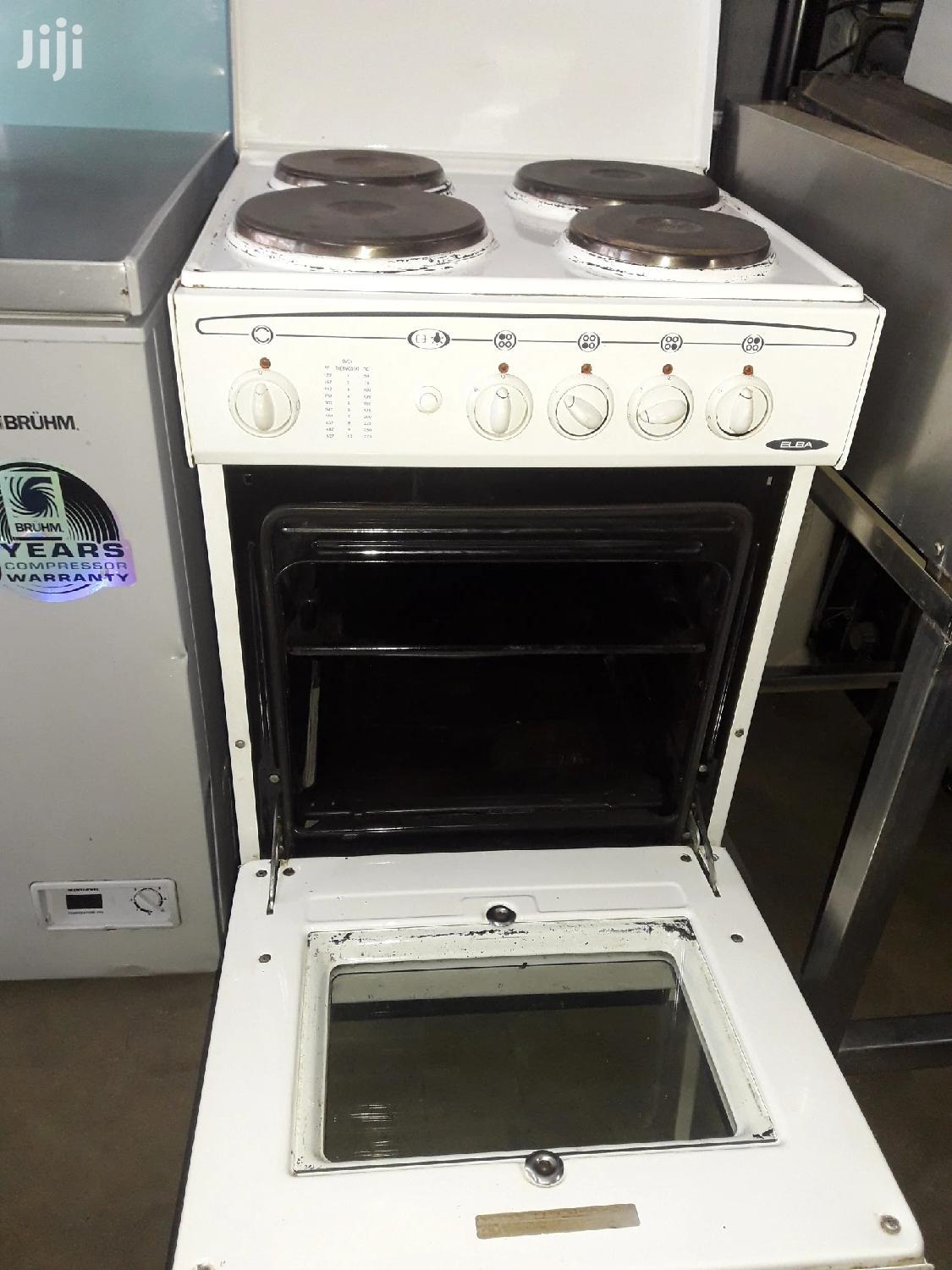 4 Plates Electric Cooker Oven