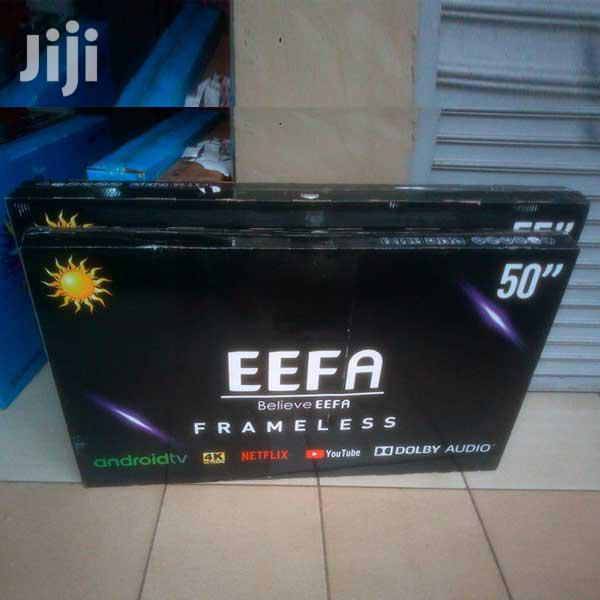 Eefa 50 Inch Frameless Smart Android LED TV HD Television