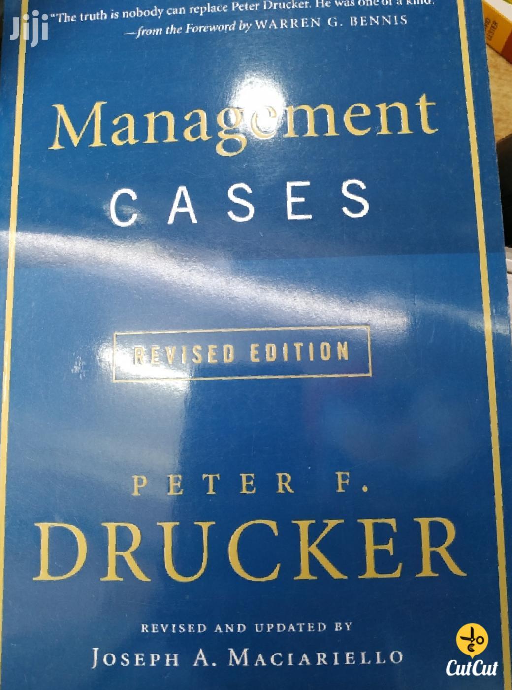 Management Cases - Peter Drucker | Books & Games for sale in Kileleshwa, Nairobi, Kenya