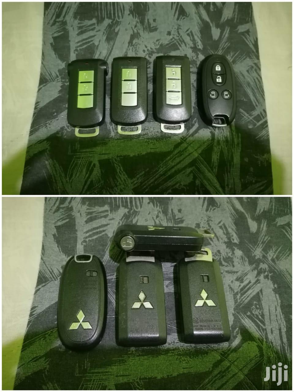 Mitsubishi 3 And 4 Button Spare Key.