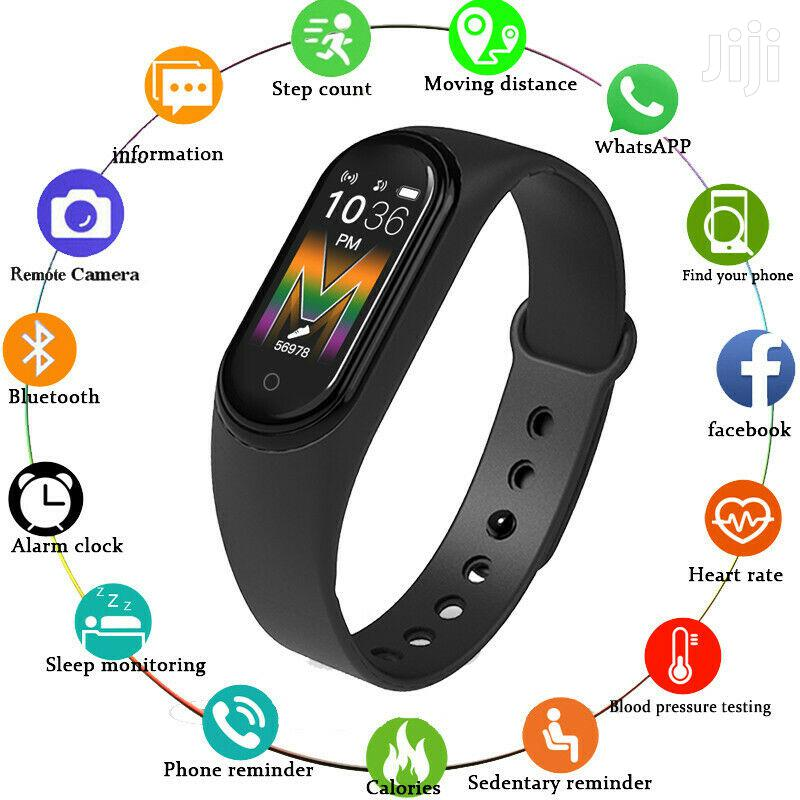New And Trendy M5 Smart Bluetooth Sports Bracelet Watch Mult | Smart Watches & Trackers for sale in Nairobi Central, Nairobi, Kenya