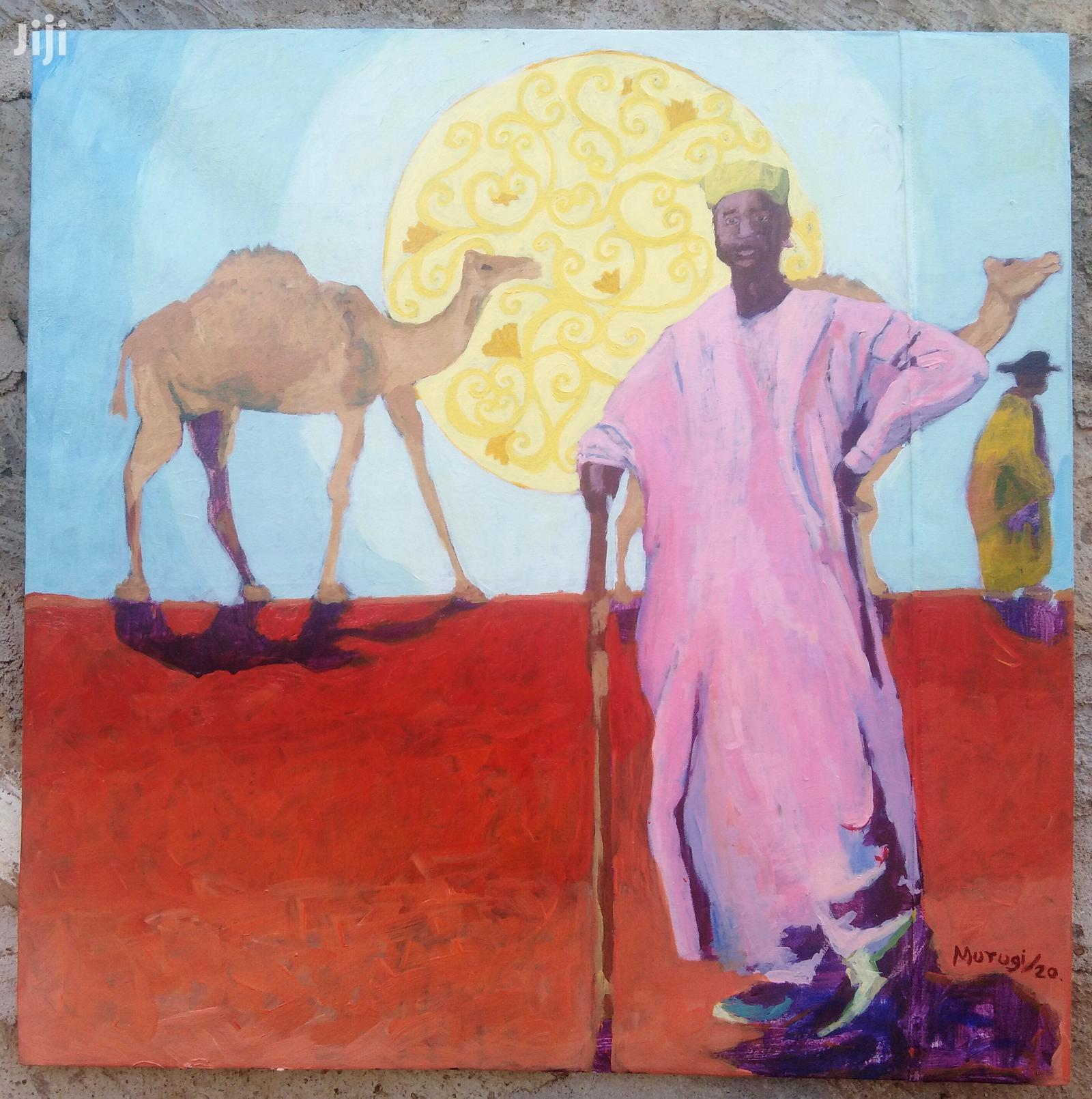 Archive: Painting on Canvas, Camel