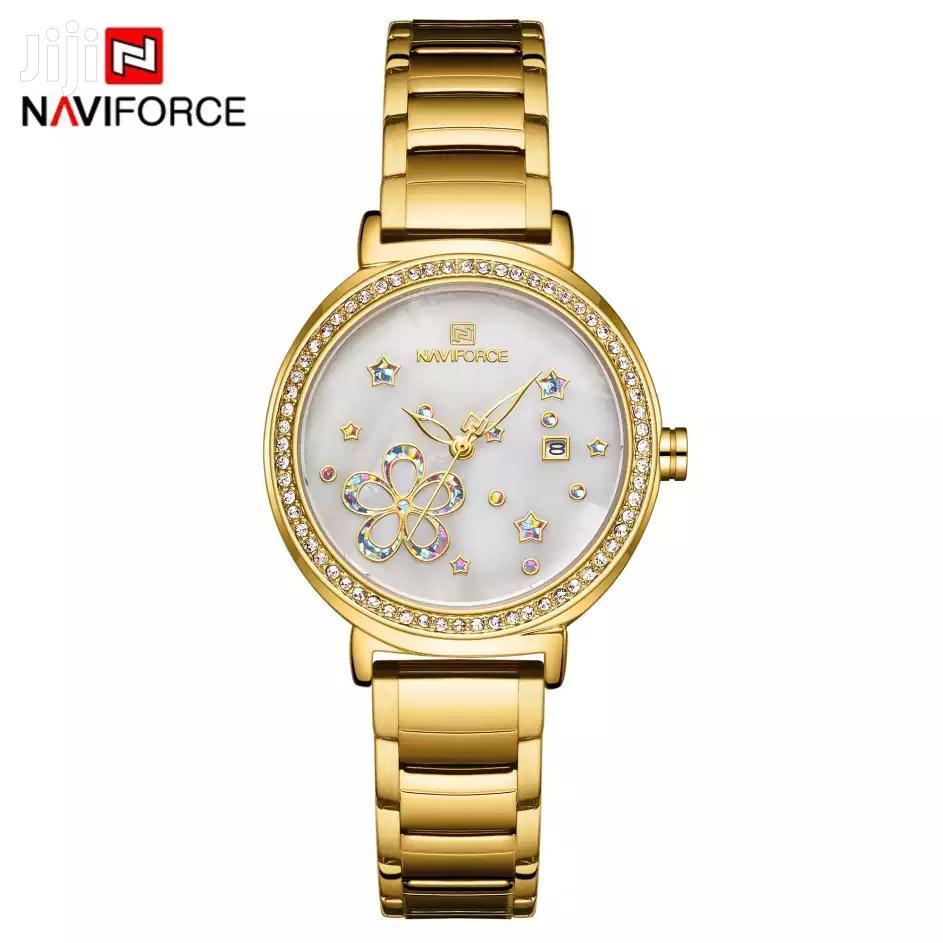 Ladies Classic Calendar Wrist Watch