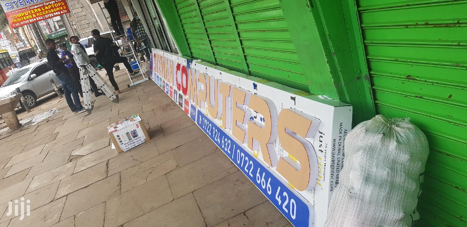 Outdoor 3d Signage