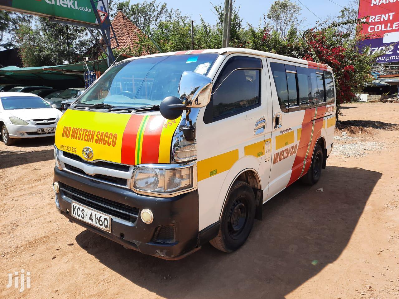 Toyota Hiace KCS 2011 White