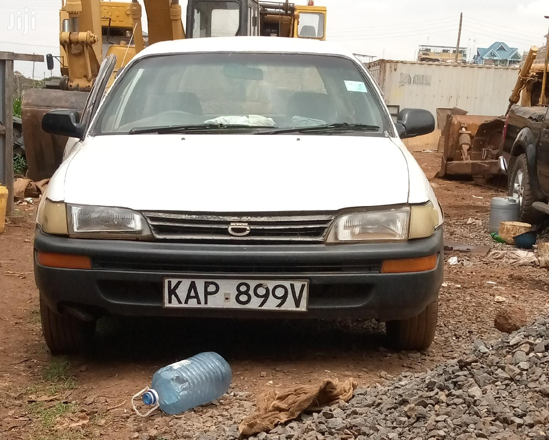 Archive Toyota Corolla Station Wagon 1994 White In Kahawa West Cars Joseph Maina Jiji Co Ke