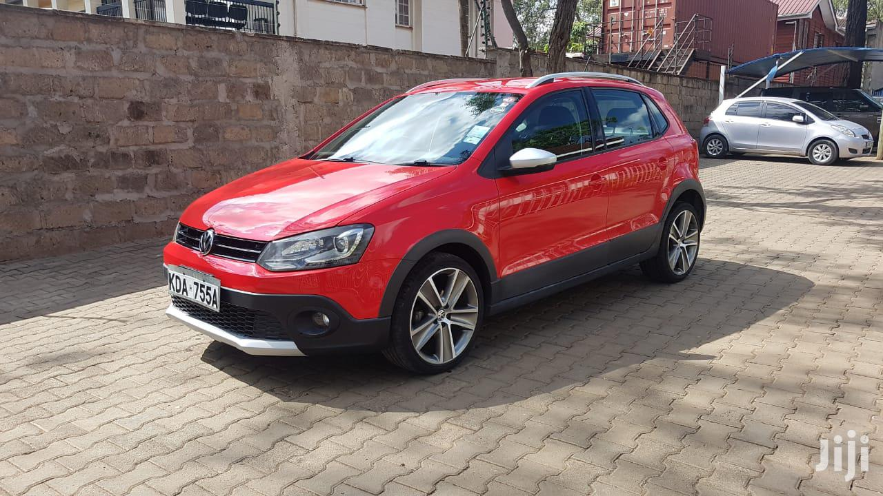 Volkswagen Polo 2013 Red