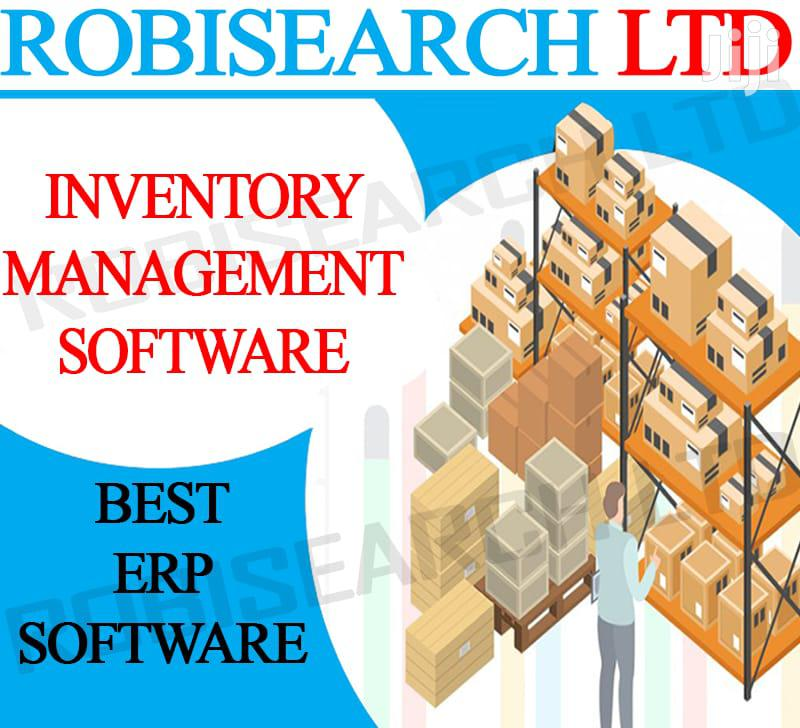 Best POS/ERP Stock/Inventory Management System ROBIPOS POS