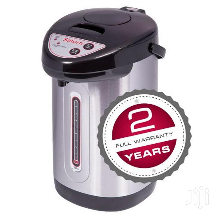 Saturn Thermo Pot/Dispenser/Electric Thermos 3.8 Litres | Kitchen Appliances for sale in Nairobi Central, Nairobi, Kenya