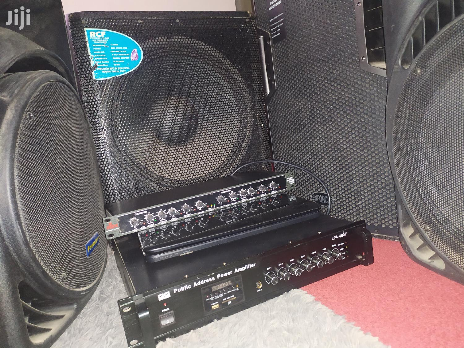 PA / Sound System for Hire | DJ & Entertainment Services for sale in Nairobi Central, Nairobi, Kenya