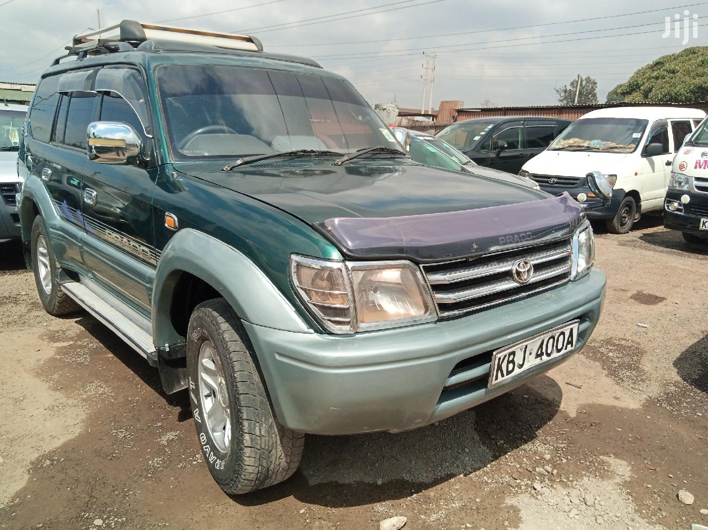 Archive: Toyota Land Cruiser Prado 2001 Green