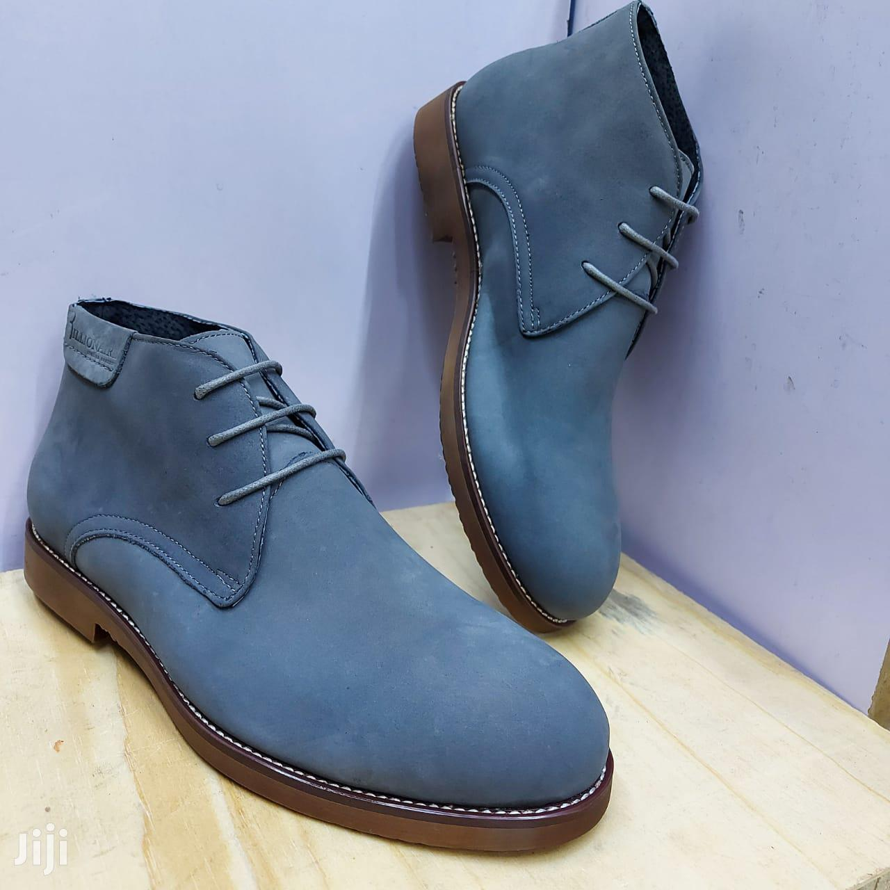 Men Suede Shoe